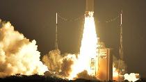 Begini Proses Satelit Telkom 3S Terbang Menuju Orbit