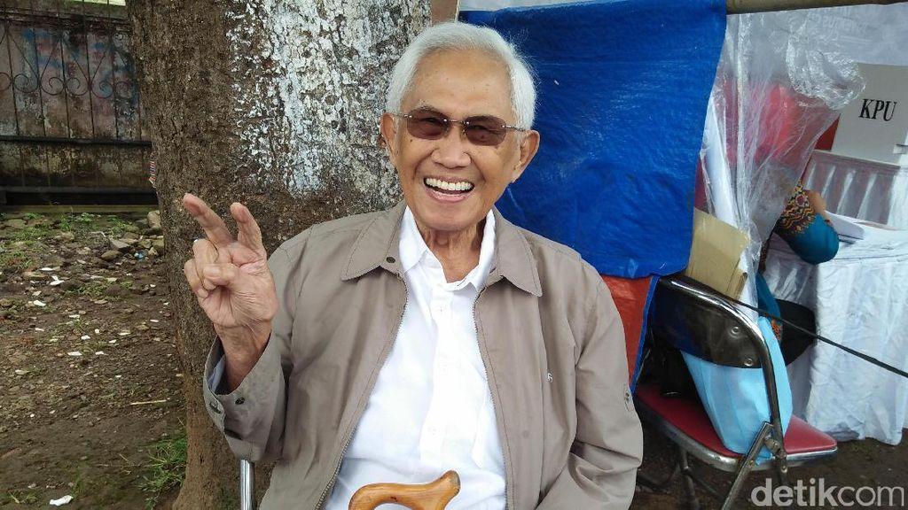 Menteri Energi Era Soeharto Nyoblos di Pilkada DKI Putaran Dua, Ini Harapannya