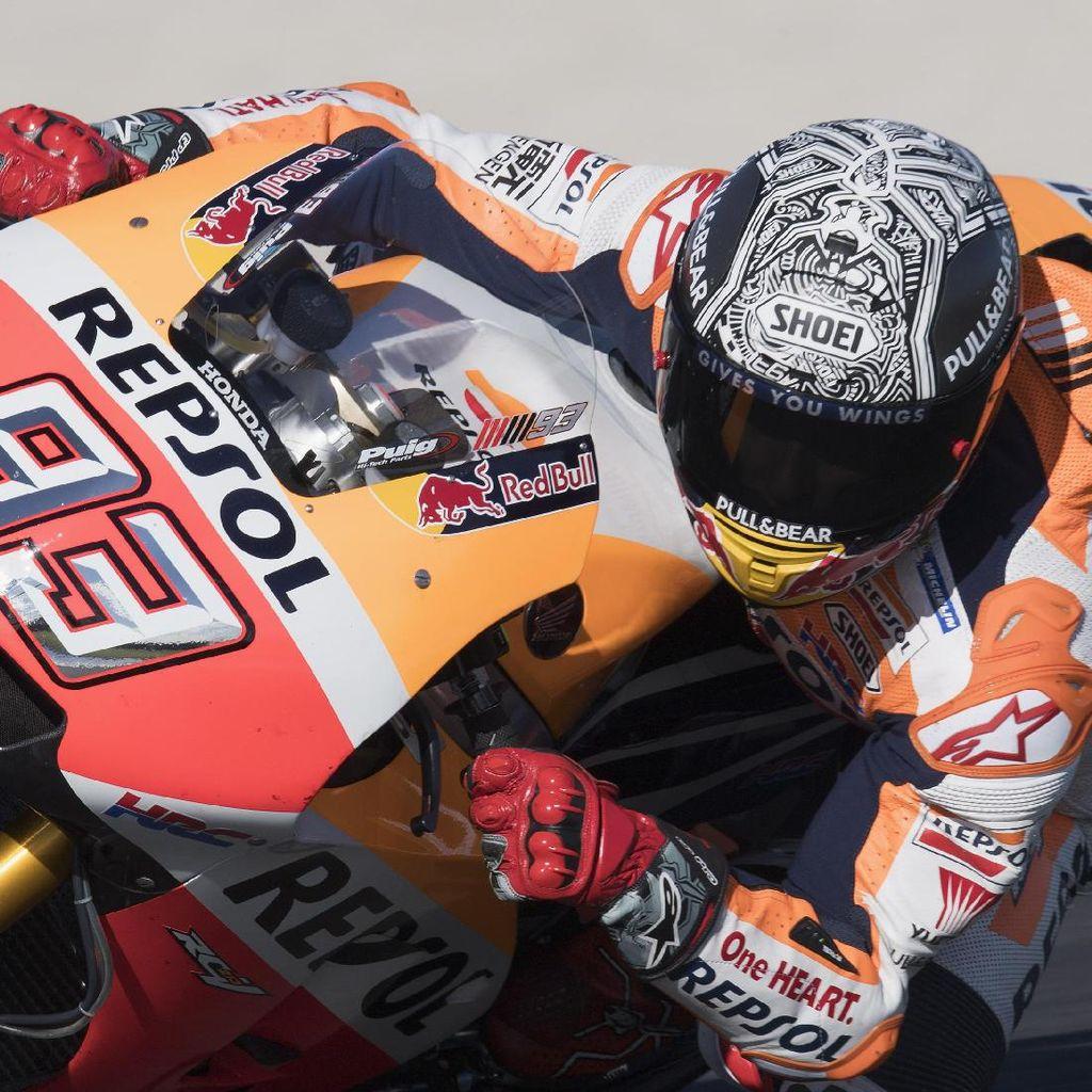 Marquez Masih Kurang Nyaman dengan Motornya
