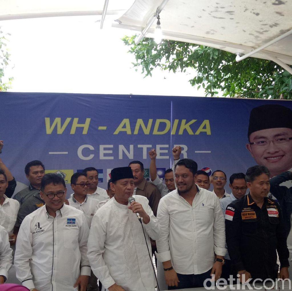 WH-Andika Terima Pemungutan Suara Ulang di 4 TPS di Kota Tangerang