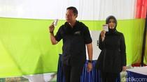 Usai Mencoblos, Agus Yudhoyono Datangi Rumah SBY di Mega Kuningan