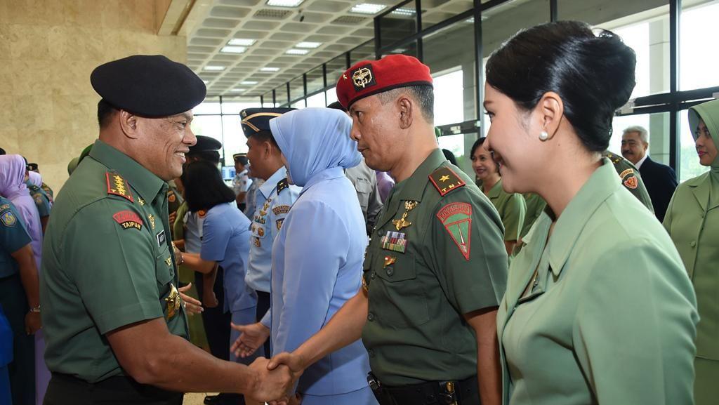 37 Pati Naik Pangkat, Panglima TNI Ingatkan Netralitas di Pilkada