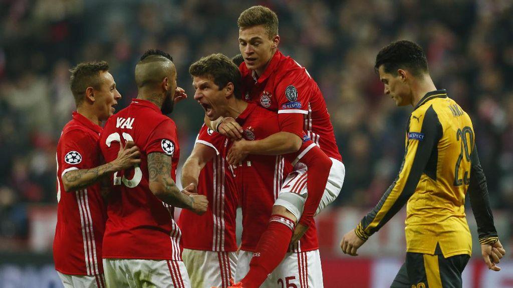 Bayern Hajar Arsenal 5-1