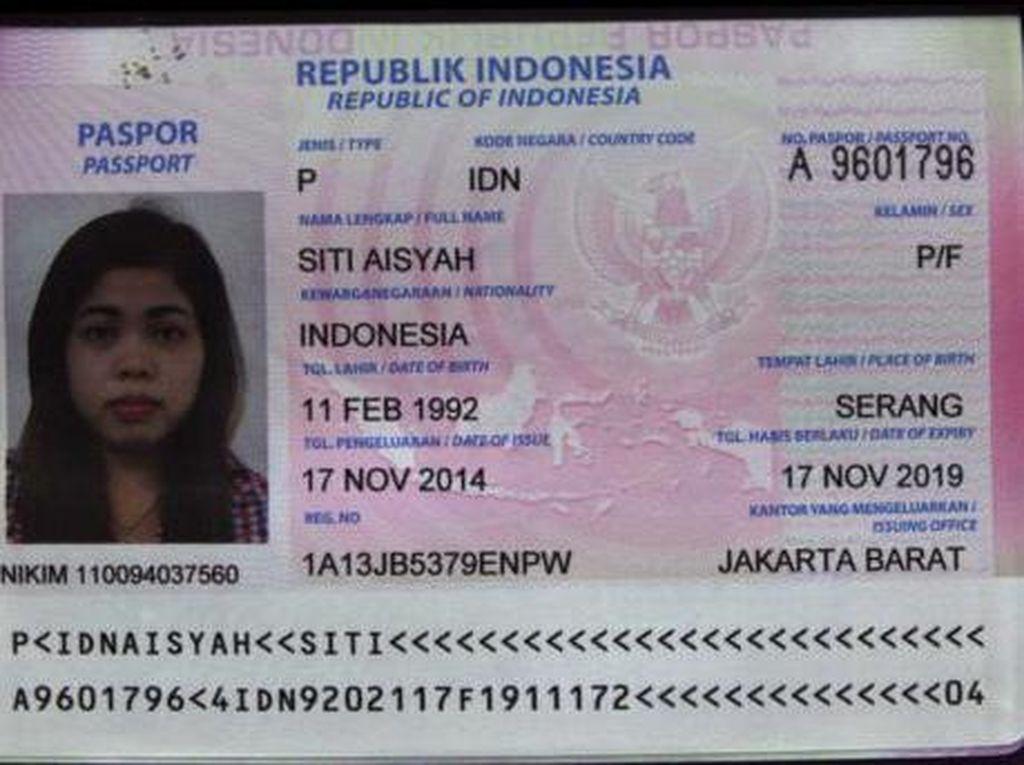 Kemlu: Siti Aisyah Diperlakukan Baik dan dalam Keadaan Sehat