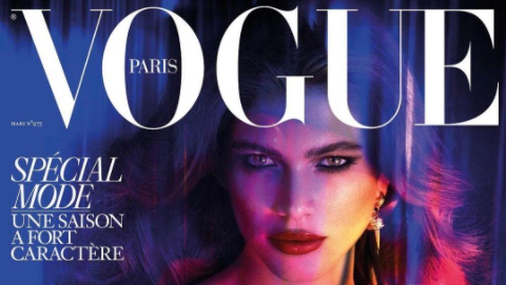 Pertamakalinya, Vogue Tampilkan Model Transgender Jadi Bintang Cover