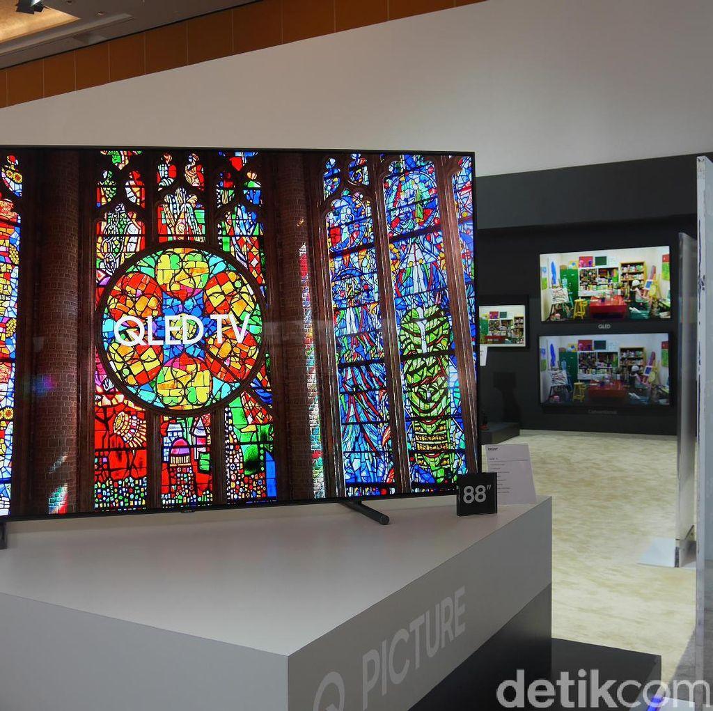QLED TV Hadir untuk Pecinta Konten 4K