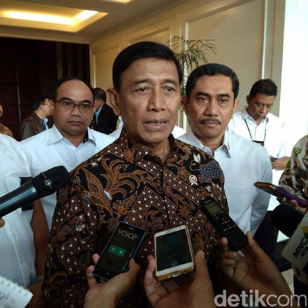 Menko Wiranto Gelar Rakor Tertutup Bahas Revisi UU Ormas