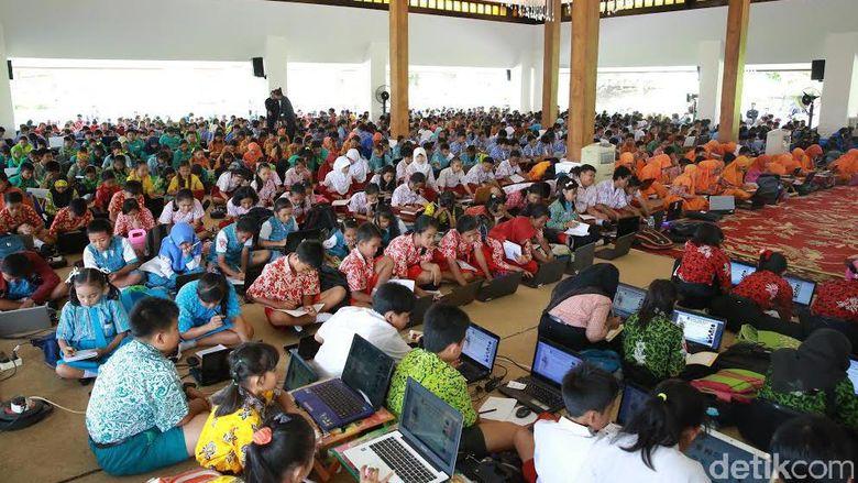 1 200 Siswa Sd Di Banyuwangi Ikuti Olimpiade Mipa Berbasis It