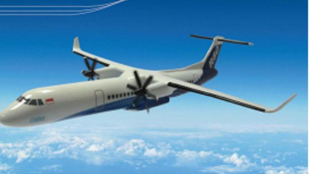 Pesawat R80 Dirakit dan Diuji Coba di Bandara Kertajati