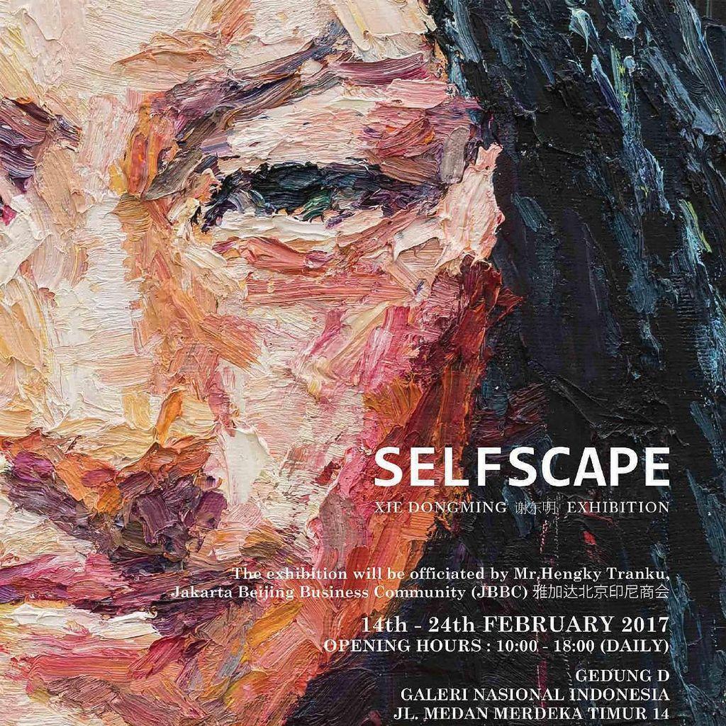 Selfscape ala Pelopor Seni Lukis Tiongkok Dipamerkan di Jakarta