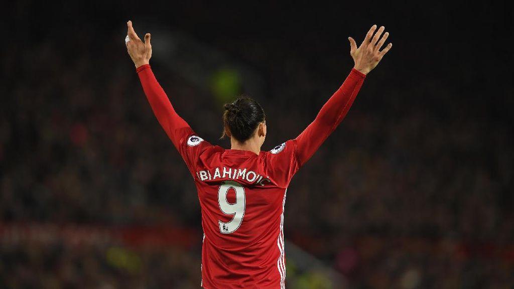 Smalling Inginkan Ibrahimovic Bertahan di Musim Depan
