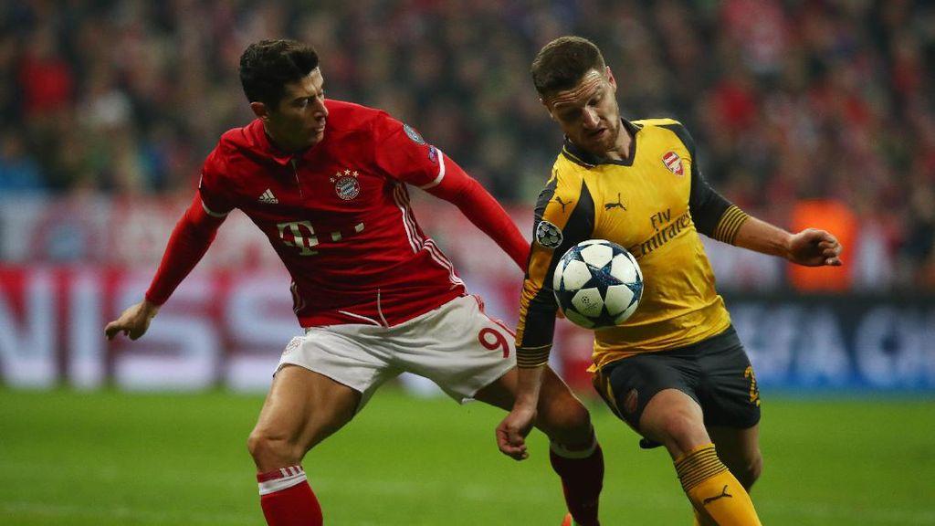 Gol Robben Dibalas Sanchez, Bayern Vs Arsenal Sementara 1-1