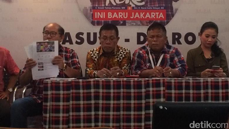 Timses Ahok-Djarot Mengaku Dapat Kekerasan di TPS 18 Gambir