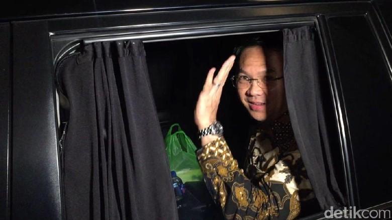 Ahok Bungkam soal Isi Pertemuan dengan Megawati Hari Ini