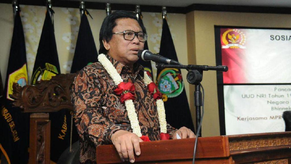 Sambut Jokowi, OSO: Kita Ingin Kurangi Sikap Kebablasan Demokrasi
