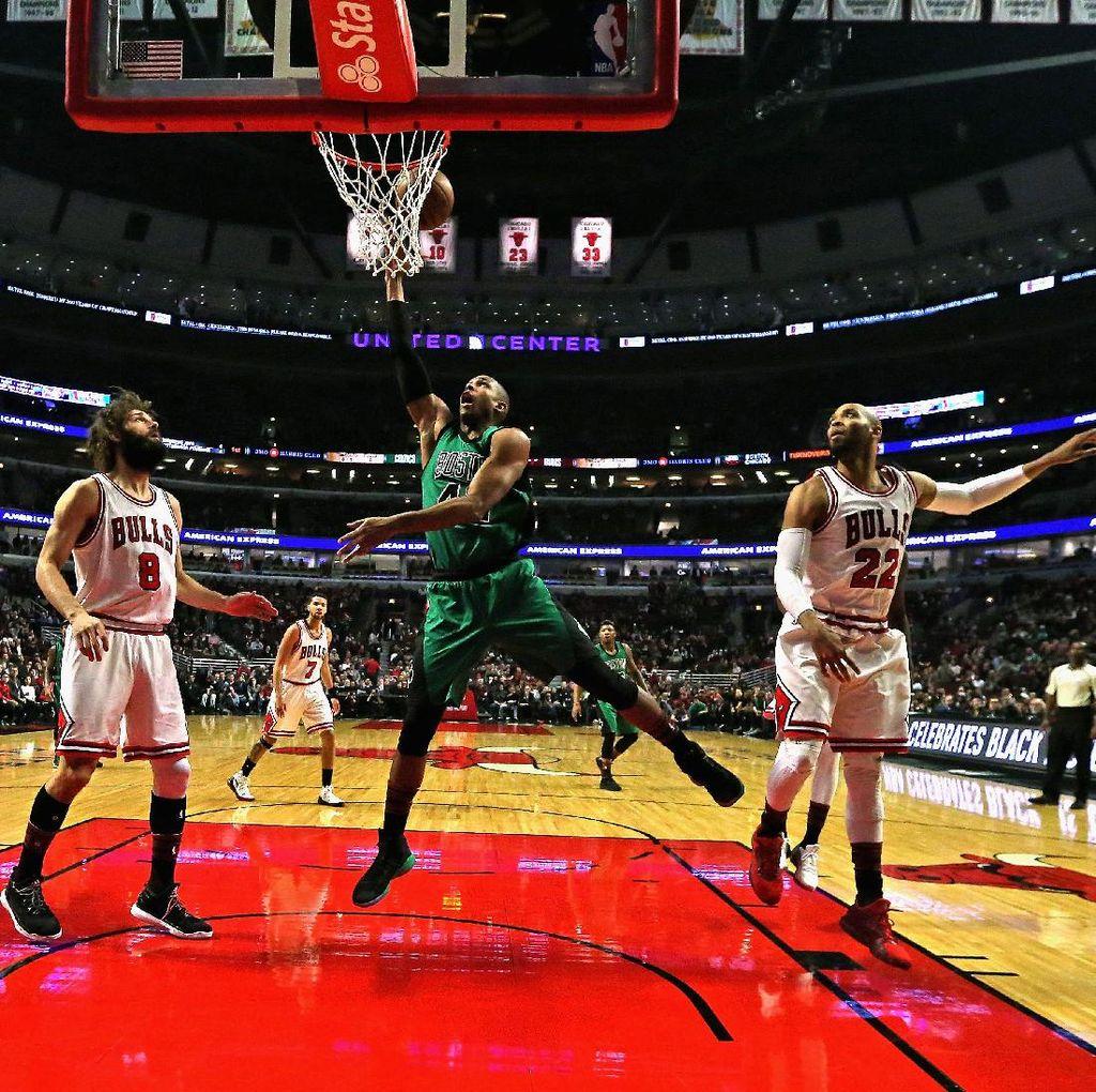 Bulls Menang Tipis atas Celtics