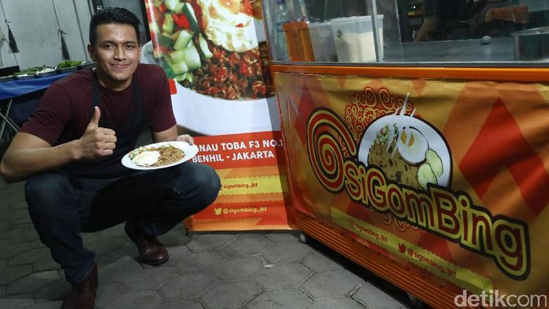 Galank Gunawan Rintis Kedai Nasi Goreng Kambing di Benhil