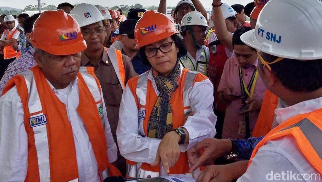 Cerita di Balik Penasarannya Sri Mulyani Lihat Proyek Tol