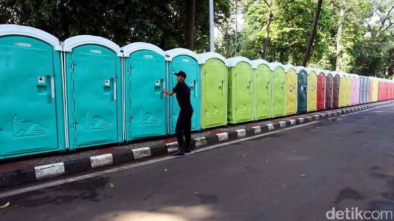 Begini Penampakan Toilet Warna-warni di DPR