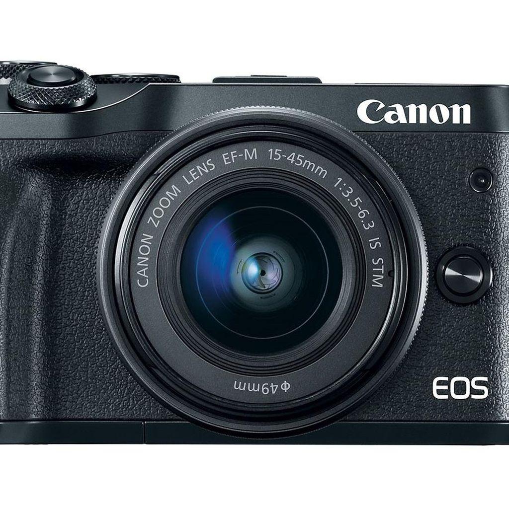 Canon Rilis EOS M6, Harganya Rp 10 Jutaan