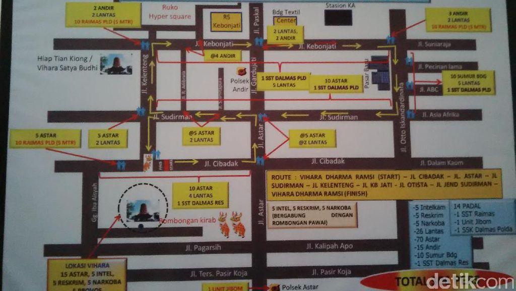 Ini Rute Kirab Cap Go Meh di Bandung Besok