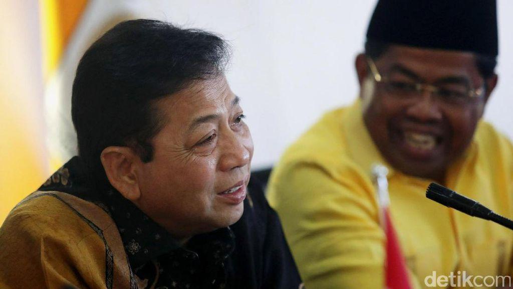 Soal Angket Ahok Gate, Novanto: Tak Perlu Tergesa-gesa