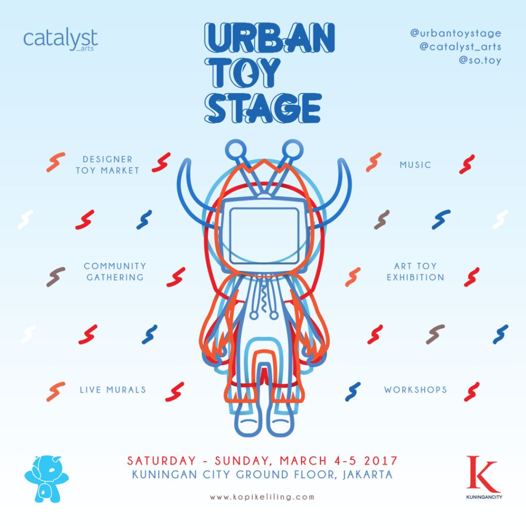 Urban Toy Stage Digelar 3-5 Maret