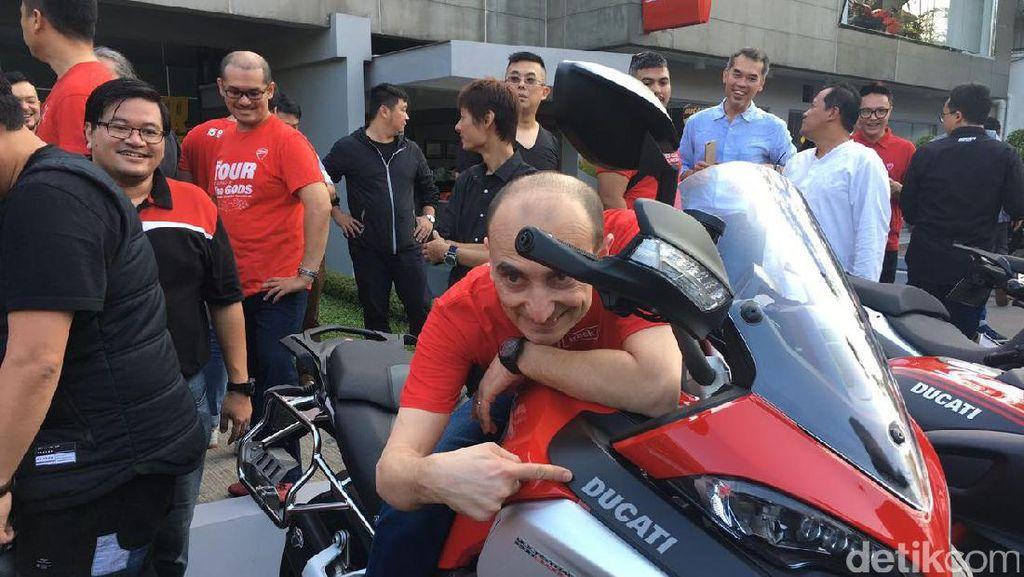 Bos Ducati Siapkan Model yang Lebih Terjangkau untuk Indonesia