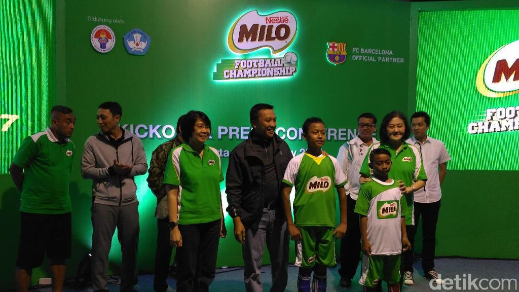 Milo Football Championship Digelar Lagi, Ribuan Anak Berburu Tiket ke Barcelona