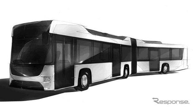Isuzu dan Hino Kolaborasi Bikin Bus Hybrid