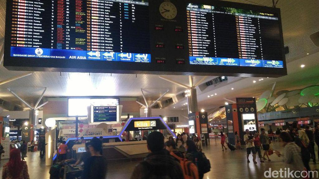 Cari Material Terkait VX, Malaysia Sweeping Bandara Kuala Lumpur