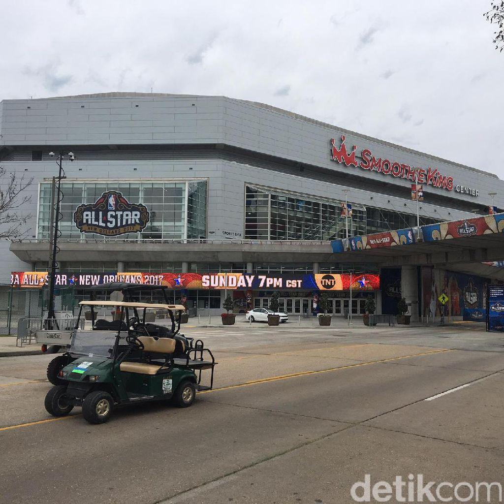 Ini Dia Lokasi Perang Bintang NBA