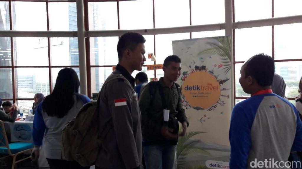 Ngumbar Dimulai, Pengunjung Antusias Ikutan Workshop & Keliling Bazar