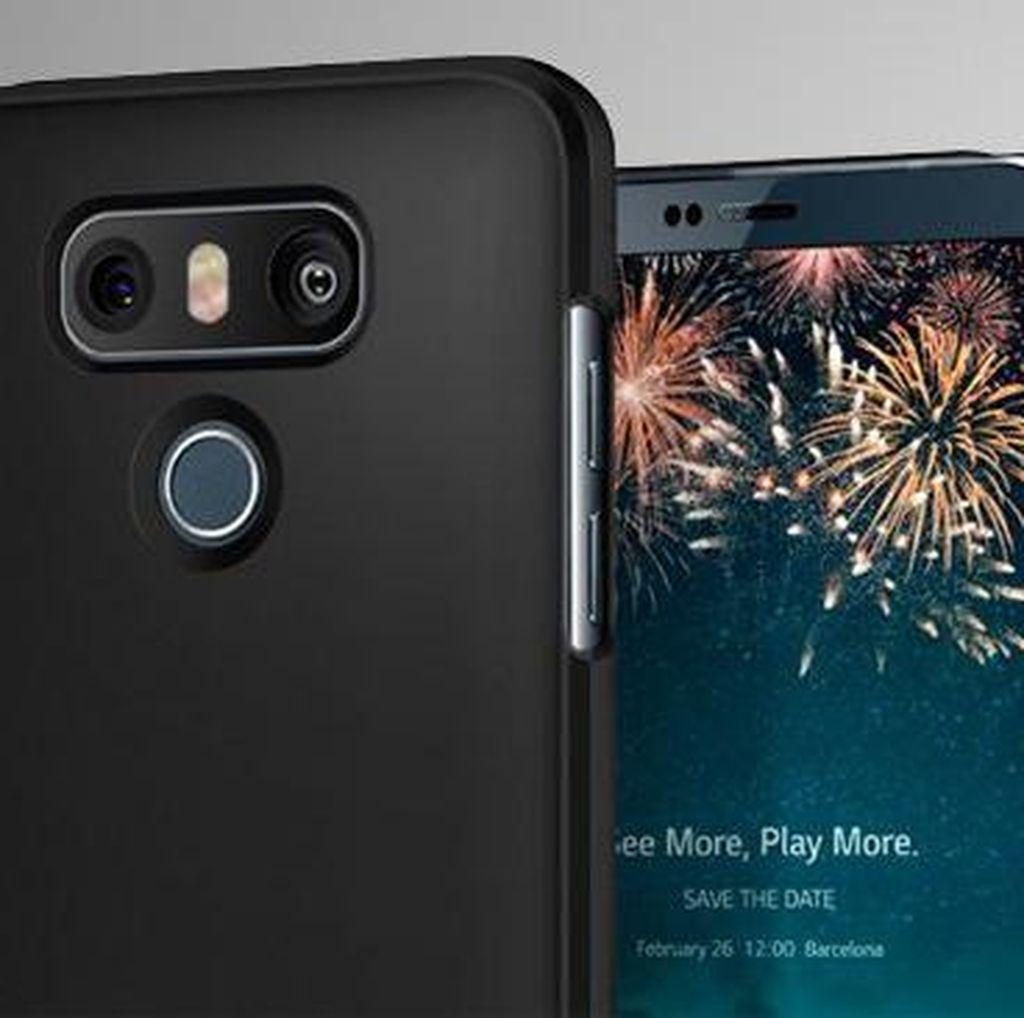 LG G6 Pamer Kemampuan Tahan Air