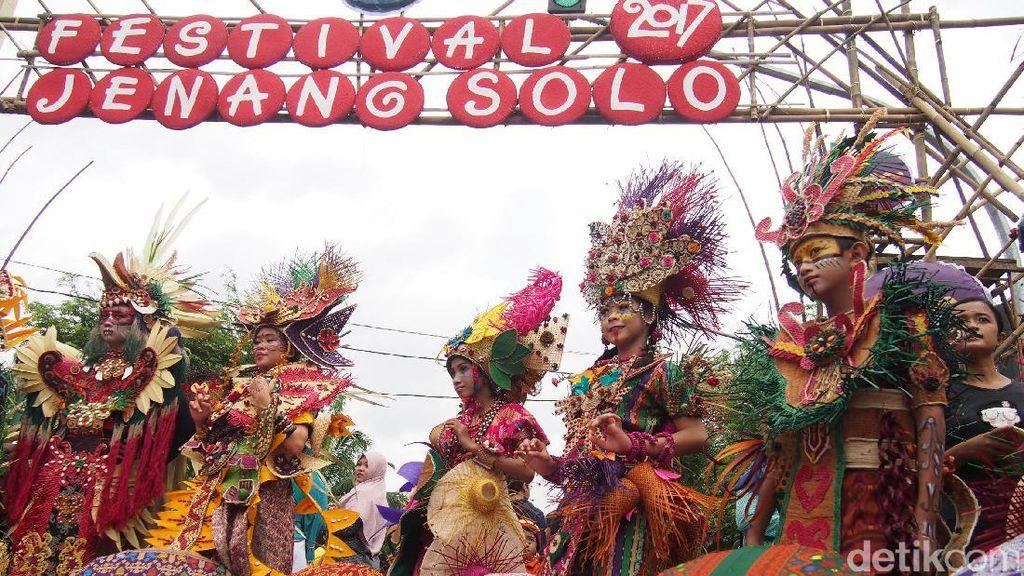 Festival Jenang Nusantara di Solo Tarik Antusiasme Warga