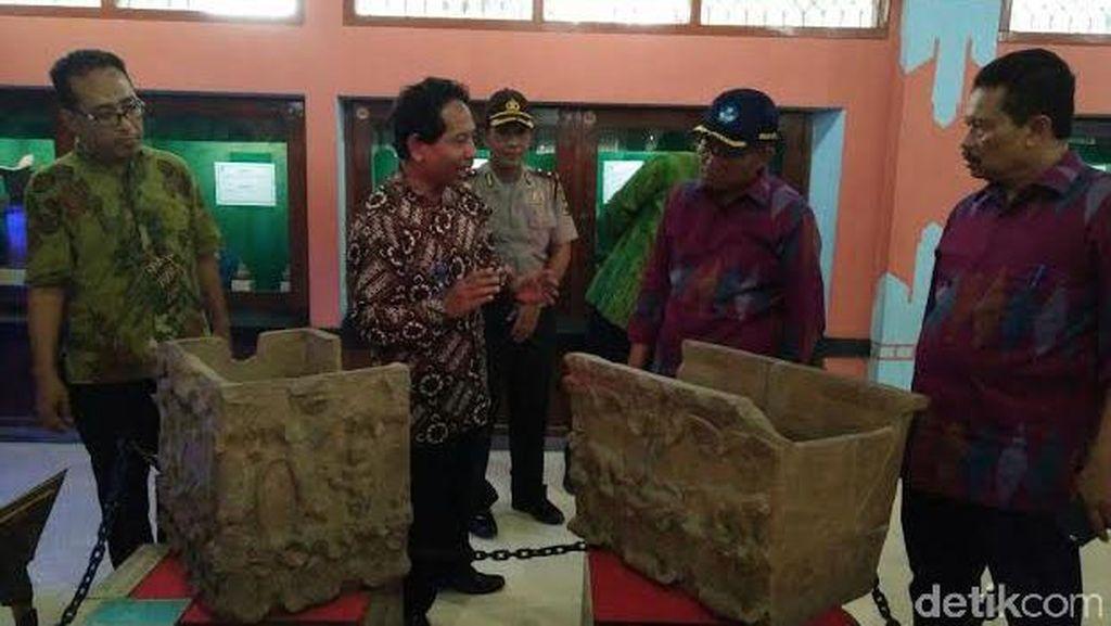 Kunjungi Museum Majapahit, Mendikbud Minta Situs Purbakala Dirawat