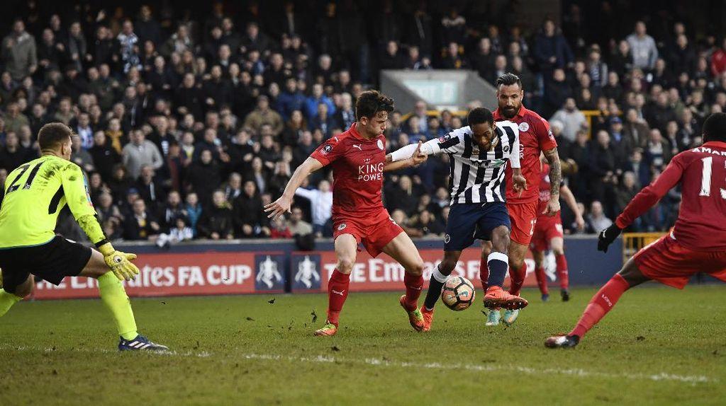 Leicester Disingkirkan Tim League One di Babak Kelima