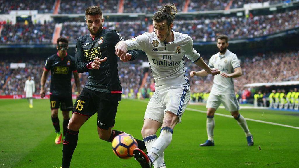 Gol Morata dan Bale Menangkan Madrid atas Espanyol