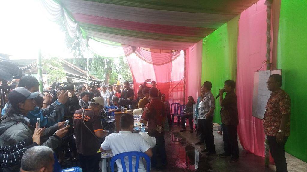 Sebanyak 257 Pemilih Nyoblos Ulang di TPS  001 Utan Panjang