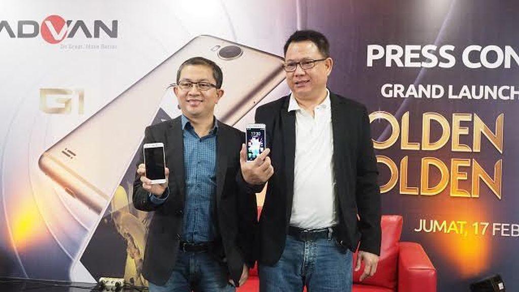 Ponsel Advan Rasa iPhone Dilepas Rp 2,3 Juta