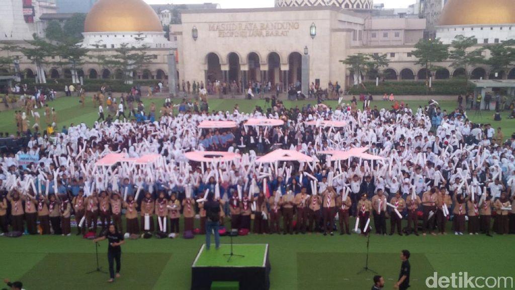 Antusiasme Pelajar dan Mahasiswa Ramaikan Deklarasi #BDGHantamHoax