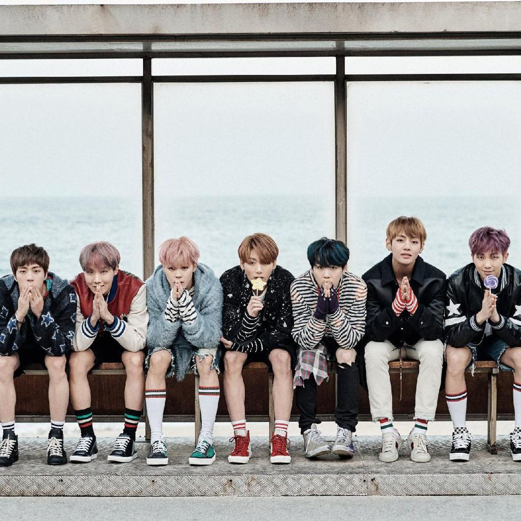 BTS Kembali Rajai Tangga Lagu Dunia Lewat DNA
