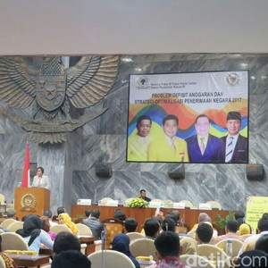 Golkar Gelar Seminar APBN, Ada Setya Novanto Hingga Sri Mulyani