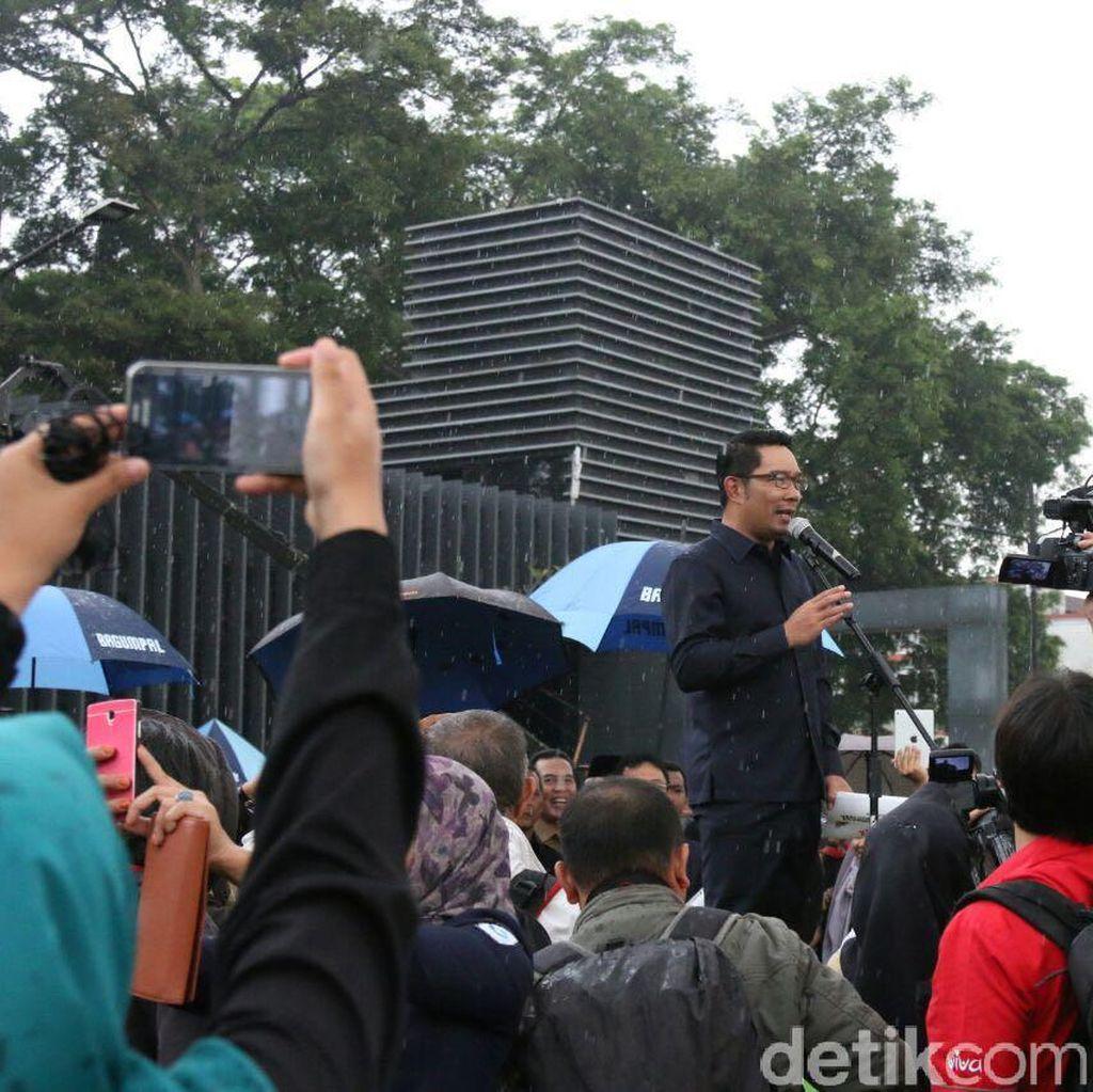 Pesan Ridwan Kamil dalam Deklarasi #BDGHantamHoax