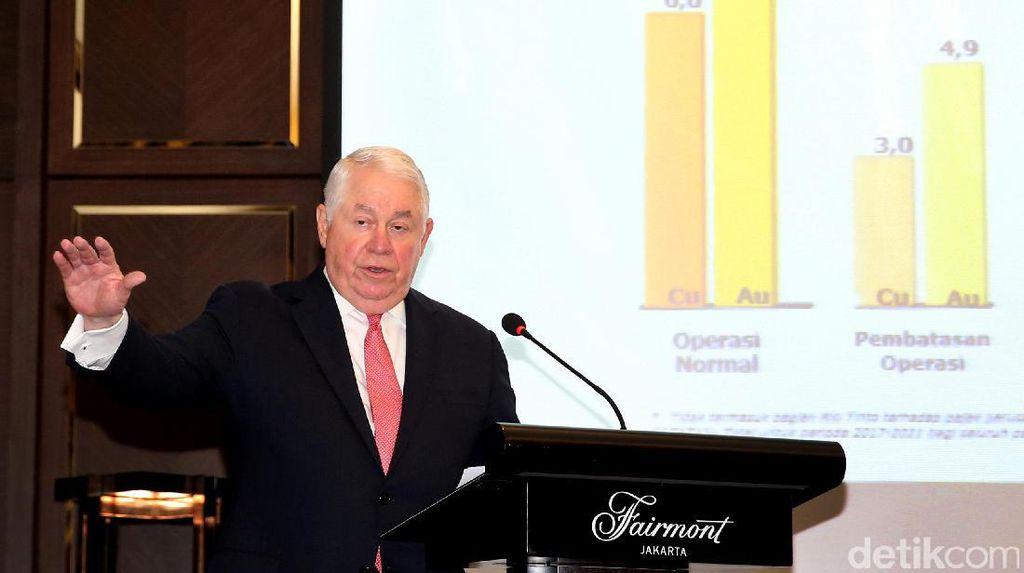 Bos Besar Freeport: Sejak 1992 Kami Setor Rp 214 T Untuk RI