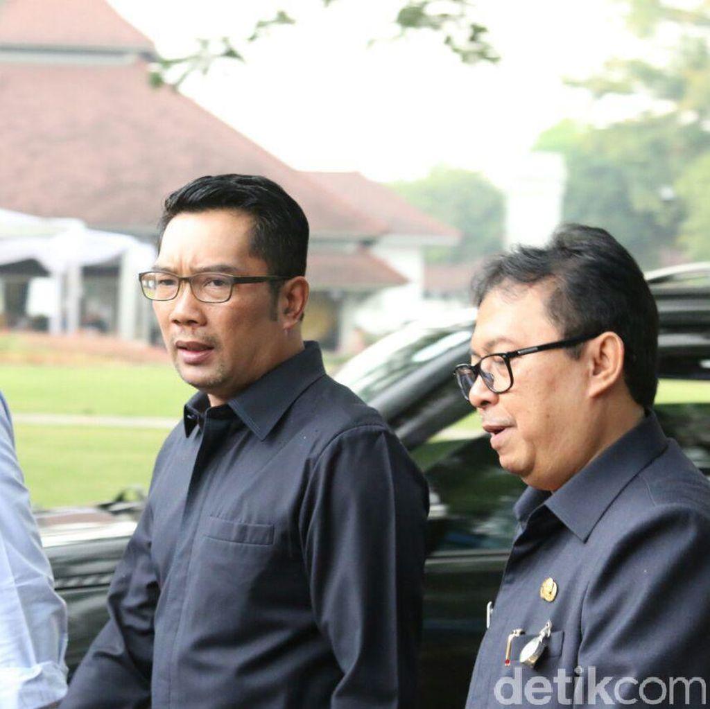 Ridwan Kamil: Kinerja Dishub dan Disdik Bandung di Bawah 50 Persen