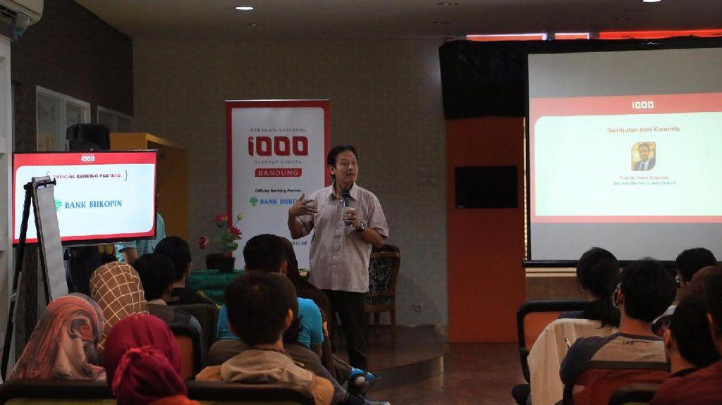 Startup Bandung Dipacu untuk Berpikir Kritis