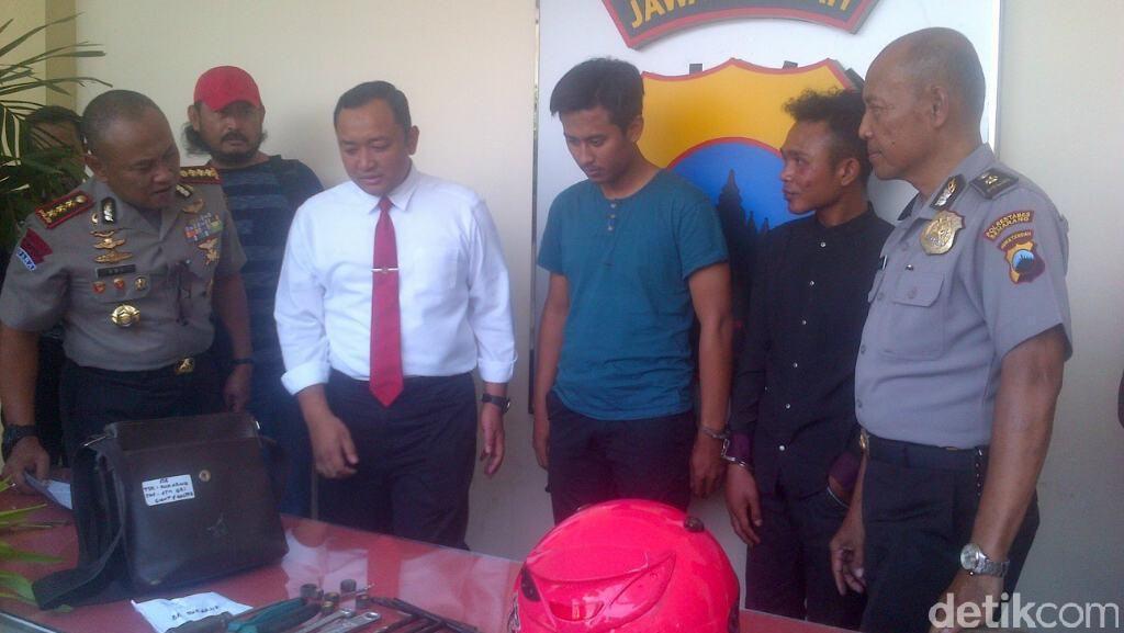 Setahun Meresahkan, Mahasiswa Pencuri Helm Ini Ditangkap Polisi
