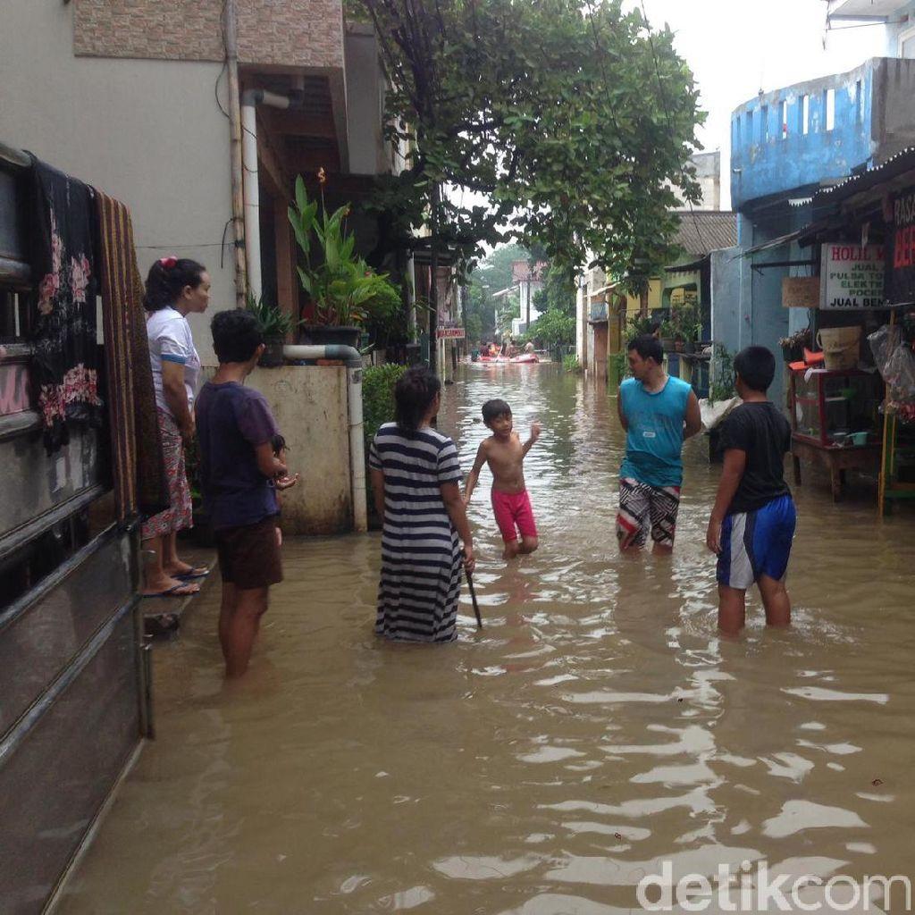 Pemkot Jaktim Desak Kementerian PU Rampungkan Turap di Kali Sunter