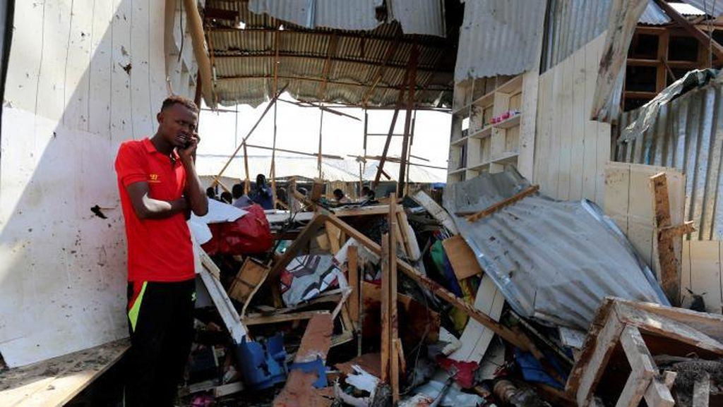Bom Bunuh Diri di Mogadishu, 39 Orang Tewas